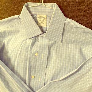 Light Blue NONIRON Dress Shirt Brooks Brothers
